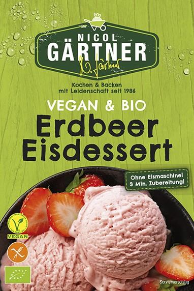 NICOL GÄRTNER Erdbeer Eisdessert