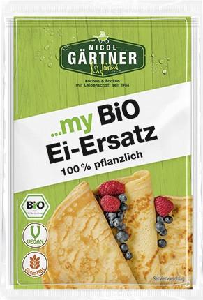 NICOL GÄRTNER Ei-Ersatz, 100% pflanzlich (4x5g) (lieferbar KW18)