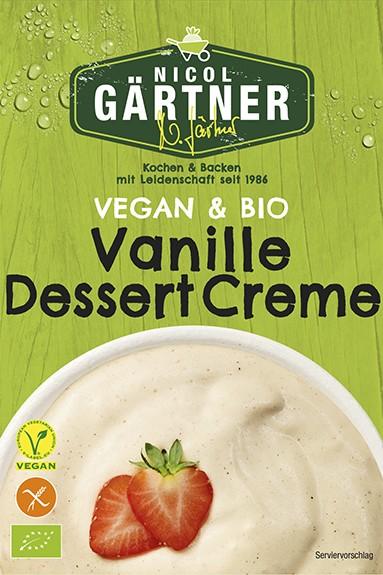 NICOL GÄRTNER Vanille Dessert Creme ohne Kochen