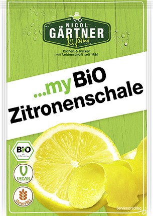NICOL GÄRTNER Zitronenschale