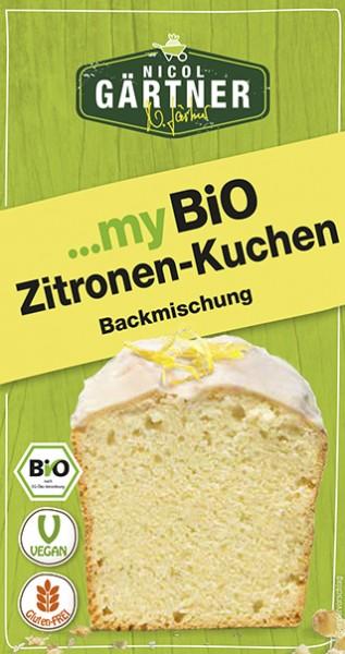 NICOL GÄRTNER Kuchenbackmischung Zitrone