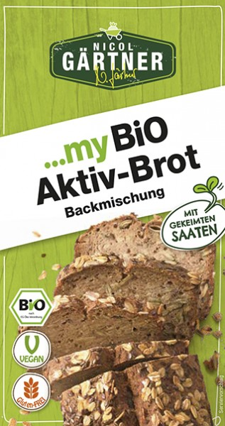NICOL GÄRTNER Brotbackmischung Aktiv