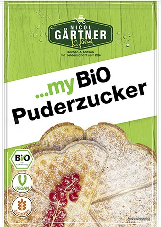 NICOL GÄRTNER Puderzucker, BIO, 100g