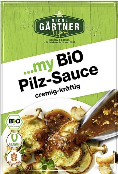 NICOL GÄRTNER Pilz-Sauce